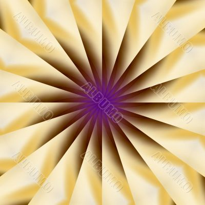 Fanning Colors Abstract