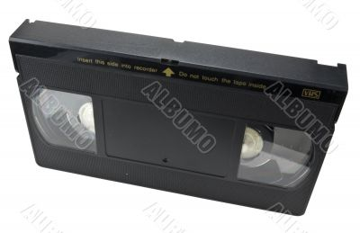 Video cassette vertical