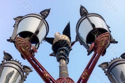 Gaudi lamp Place Reial