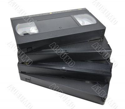 Cassette fan-shaped pile