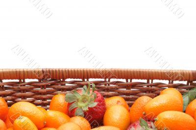 kumquats an strawberry