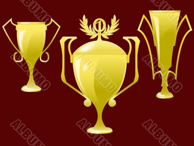Cups - the award for a victory