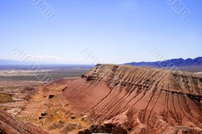 Paleontology mountains