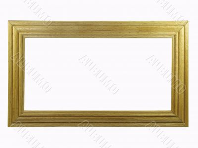 Simple  wooden frame.