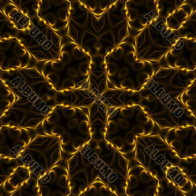 Symmetrical Filaments Abstract