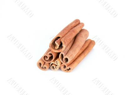 Cinnamon sticks tower