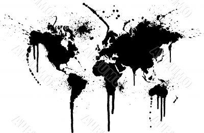 World splatter