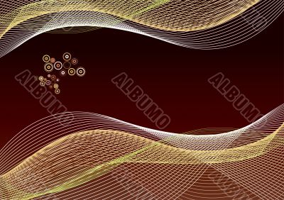 Abstract lines paper template background