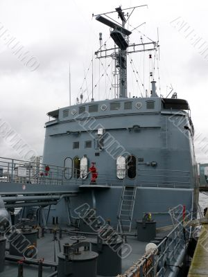 German Navy Ship