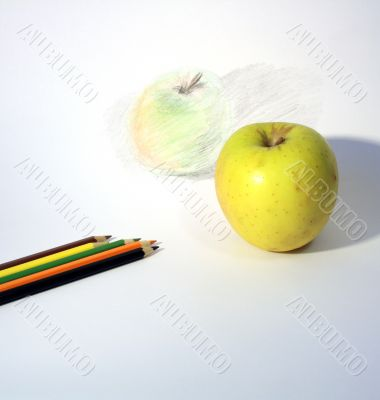 Still-Life With Apple
