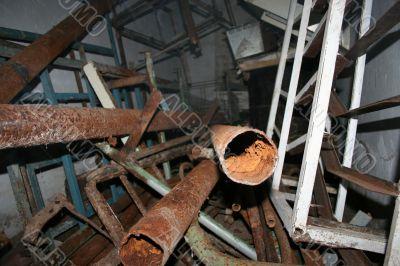 pipes prepared to conversion