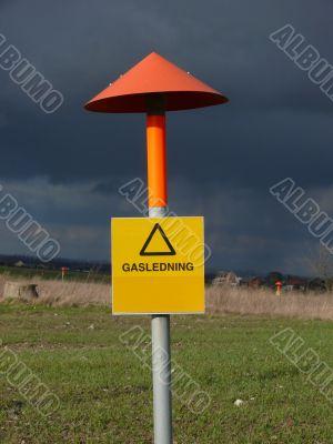 Liquid Gas Sign