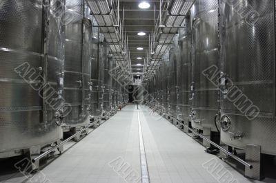 Wine cisterns