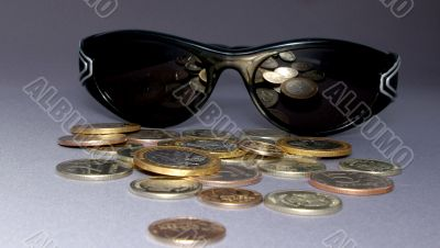 The Spectacles and coins.