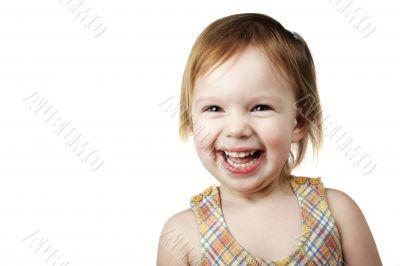 laughing ilttle girl