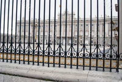 Wrought Iron at the Palace