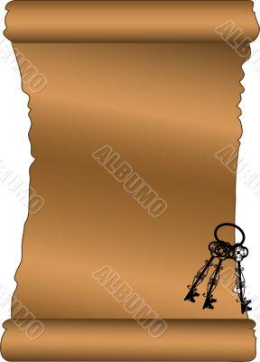 Scroll with keys