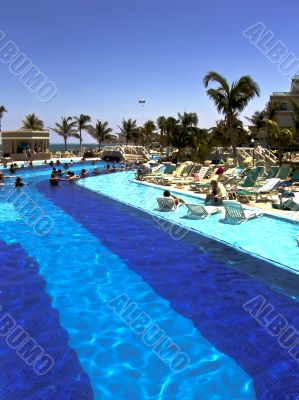 Swimming Pool in Luxurious Tourist Resort