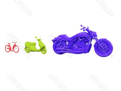 evolution of bicycle