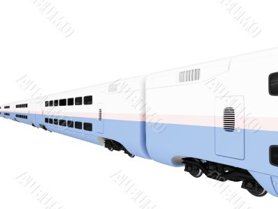 Train express isolated view