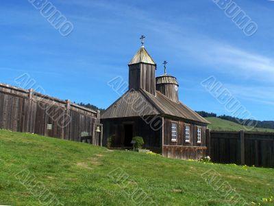 Fort Ross. California. National Park