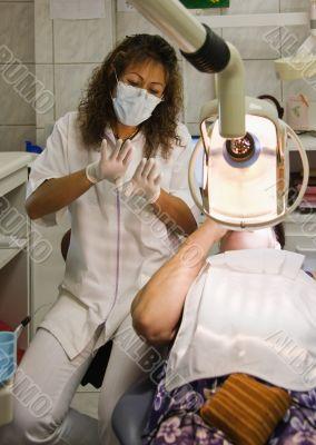 Hispanic dentist