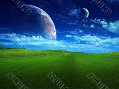 cosmos landscape