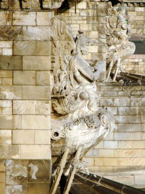 Detail of Széchenyi Chain Bridge in Budapest
