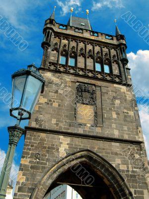 Old town bridge tower
