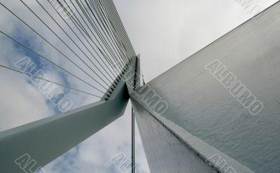 Pylon of suspension bridge