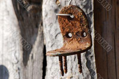 Rusty hardware
