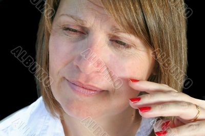 Natural Look Middle Aged Woman
