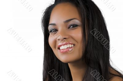 ethnic woman with a smile
