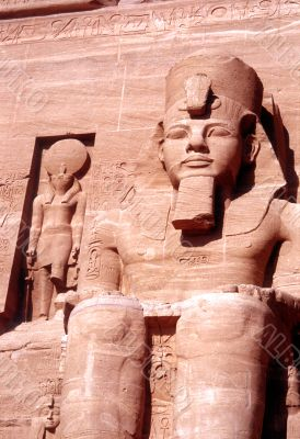 Ramses the second`s Temple