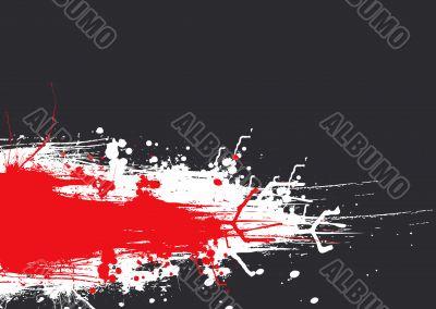 ink drag red