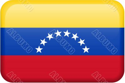 Venezuela Flag Button