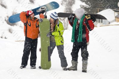 snowboarding team, health lifestyle