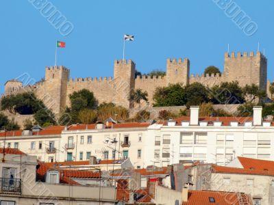 Castelo de Sao Jorge, Saint George castle, Lisbon