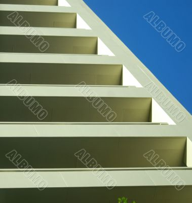 Abstract Balconies turn Stairs 1