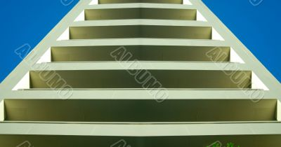 Abstract Balconies turn Stairs 2