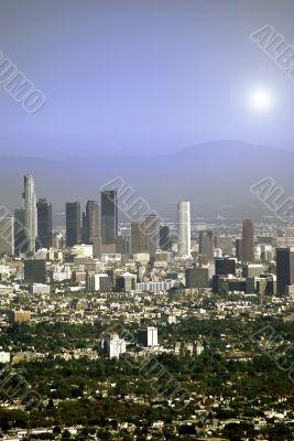 Los Angles Cityscape