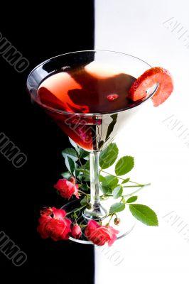 wine &  Strawberry