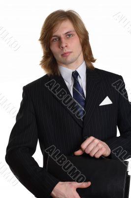 A businessman with a brief-case 2