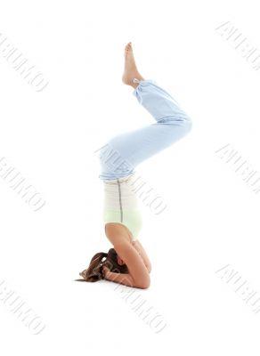 salamba sirsasana supported headstand 5