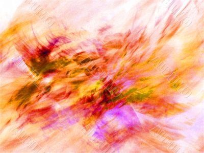 Autumnal colours abstract