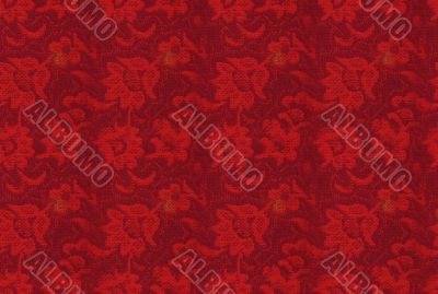 Seamless backgorund: retro floral texture