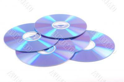 Blank dvd`s.