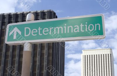Determination Ahead