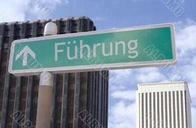 Fuehrung Vorne
