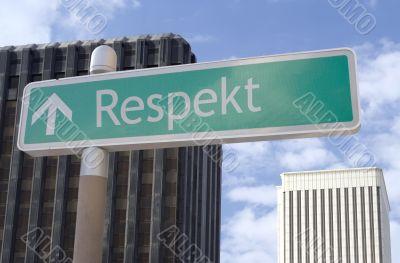 Respekt Vorne